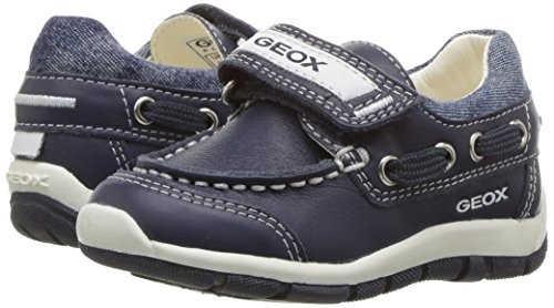 Geox Boys' Baby Shaaxboy 23 Loafer, Navy, 25 BR/8.5 M US Toddler by Geox (Image #6)