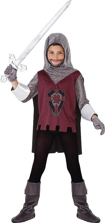 Rubies - Disfraz de Caballero Medieval para niños, 3-4 años ...