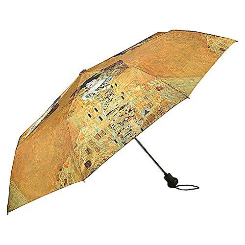 VON LILIENFELD Paraguas Bolsillo Plegable Ligero Estable Apertura Automatico Compacto Amor Arte Gustav Klimt Adele