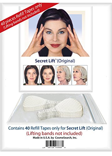 40 Piece Refill Tapes for Instant Face, Neck and Eye Lift Kit ()