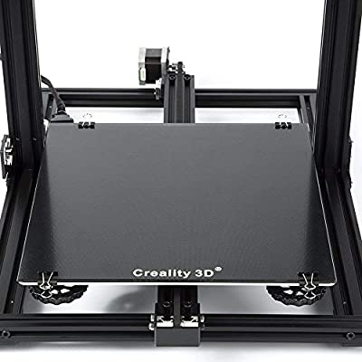 Creality 3D Printer Platform Heated Bed Build Surface Tempered Glass Plate for Ender 3 3D Printer 235x235x3mm