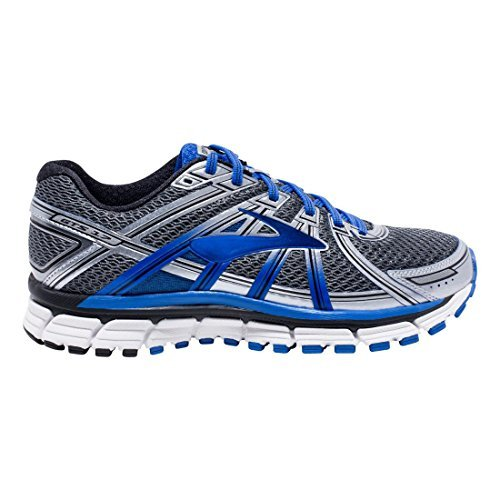 Men's Brooks Adrenaline GTS 17, Anthracite/Blue, 12.5 EE