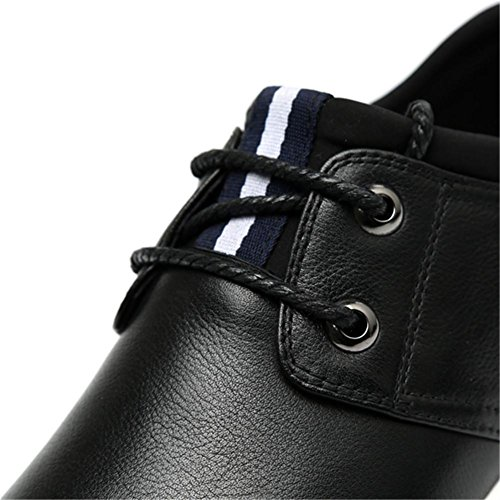 Winter Herbst Mode Fashion Trend Casual Leder Herrenschuhe Spitzen Schuhe Classic black