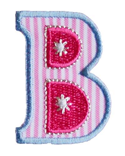 D maiuscolo 5cm rosa azul Planchado Personalizar ...