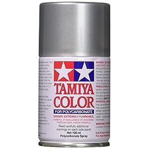 Tamiya 86041 41 Paint Spray, Bright Silver