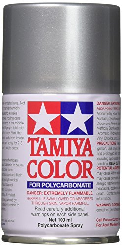 Tamiya 86041 41 Paint Spray, Bright Silver