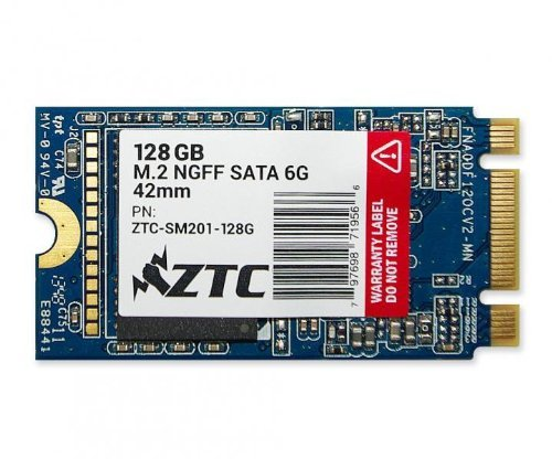 7 opinioni per 128GB ZTC Armor 42mm m. 2 NGFF 6g SSD Solid State Disk-TZC-SM201- 128G