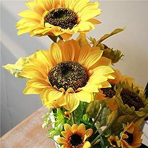 YSZL Artificial Sunflower with Pot 5