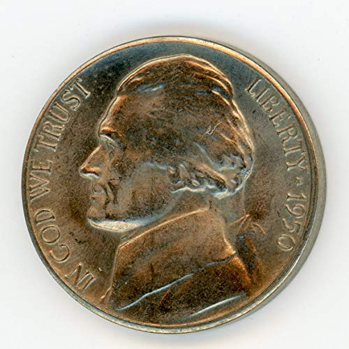 1950 D Jefferson Nickel MS-64