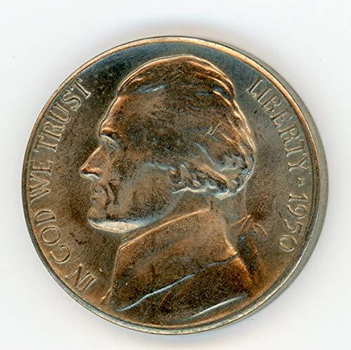 1950 D Jefferson Nickel MS-64