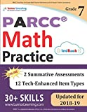 PARCC Test Prep: 7th Grade Math Practice Workbook and Full-length Online Assessments: PARCC Study Guide