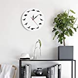 The Geeky Days Dinosaurs Silhouette Wall Clock