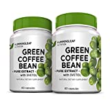 Pure Green Coffee Bean Extract 800mg with Svetol, GCA and 50% Chlorogenic Acids - Dr Oz Recommended for Natural Weight Loss As Seen on TV - Extreme Fat Burner with No Fillers, Additives or Side Effects - 60 Vegetarian Capsules, 30 Day Supply