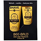 Bee Bald Skin Care Kit, 2 Piece