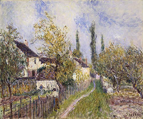 Alfred Sisley Painting of The French Countryside National Gallery of Australia 30