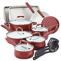 The Red Savannah 17 Piece Cookware Set