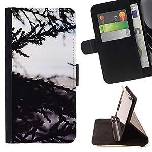 Momo Phone Case / Flip Funda de Cuero Case Cover - Árbol Naturaleza vistas al mar - Samsung Galaxy J3 GSM-J300