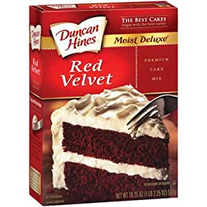 Duncan Hines Cake Mix Nut Free