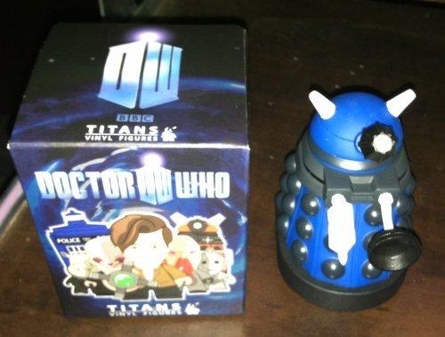 DOCTOR WHO TITANS - 3 VINYL FIGURES - STRATEGIST DALEK - SERIES 1 by Titan Merchandising