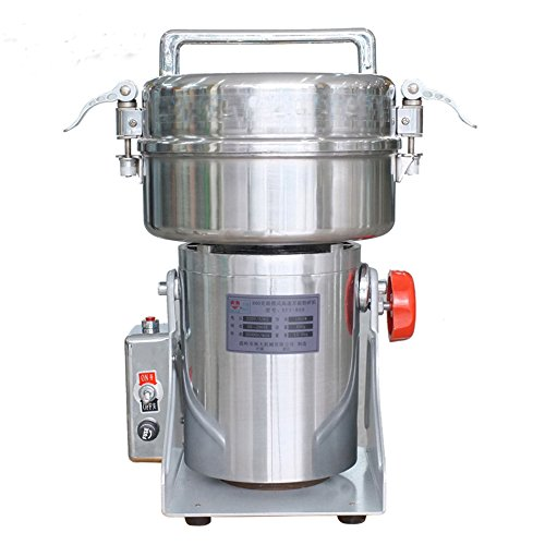 MXBAOHENG DFY-1000C Electric 1000g Swing Herb Grinder Stainless Steel Mill Cereal Grinding Machine (110V) by MXBAOHENG