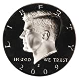 2009 S Kennedy Half Dollar Proof Deep Cameo DCAM Gem US Coin .50