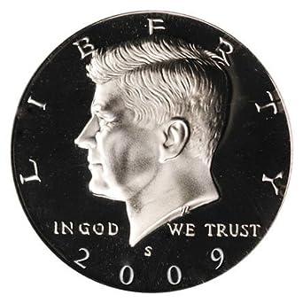 Coin 2009-S Kennedy Half Dollar Gem Proof Deep Cameo U.S