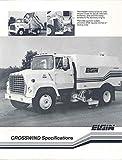 1984 Elgin Crosswind Ford Truck Brochure