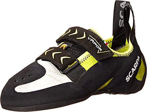 Scarpa Men's Vapor V Climbing Shoe, Lime, 49 EU/14.5 M US