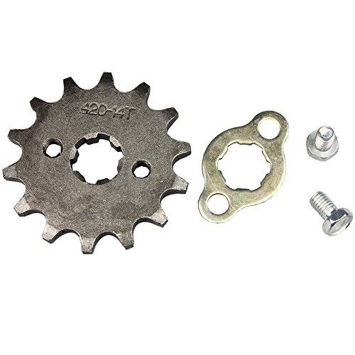Wingsmoto Sprocket Front 420-14T 17mm Motorcycle ATV Dirtbike