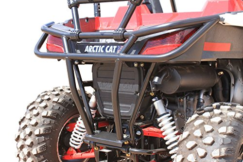 Dragonfire Racing RockSolid Black Rear Bumper Arctic Cat Wildcat Trail/Sport by Dragonfire Racing (Image #2)