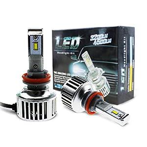 Amazon Com Evitek H8 H9 H11 Led Headlight Bulbs For Cars