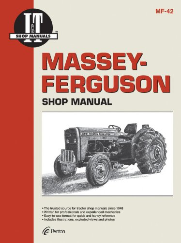 Massey Ferguson Shop Manual Models  MF230 MF 235 MF240 + (Mf-42)