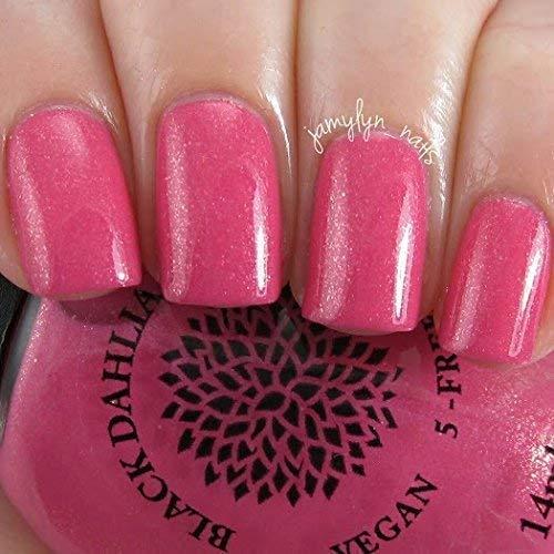 Amazon.com: Rose Petals | Raspberry Pink Shimmer Nail Polish | by ...