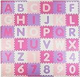 Tadpoles Soft EVA Foam 36 Piece ABC Playmat