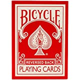 Magic Makers' Bicycle Reversed Back Red Deck
