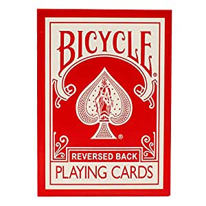 Bicycle RED Deck Cards for Magic Tricks or Playing Poker