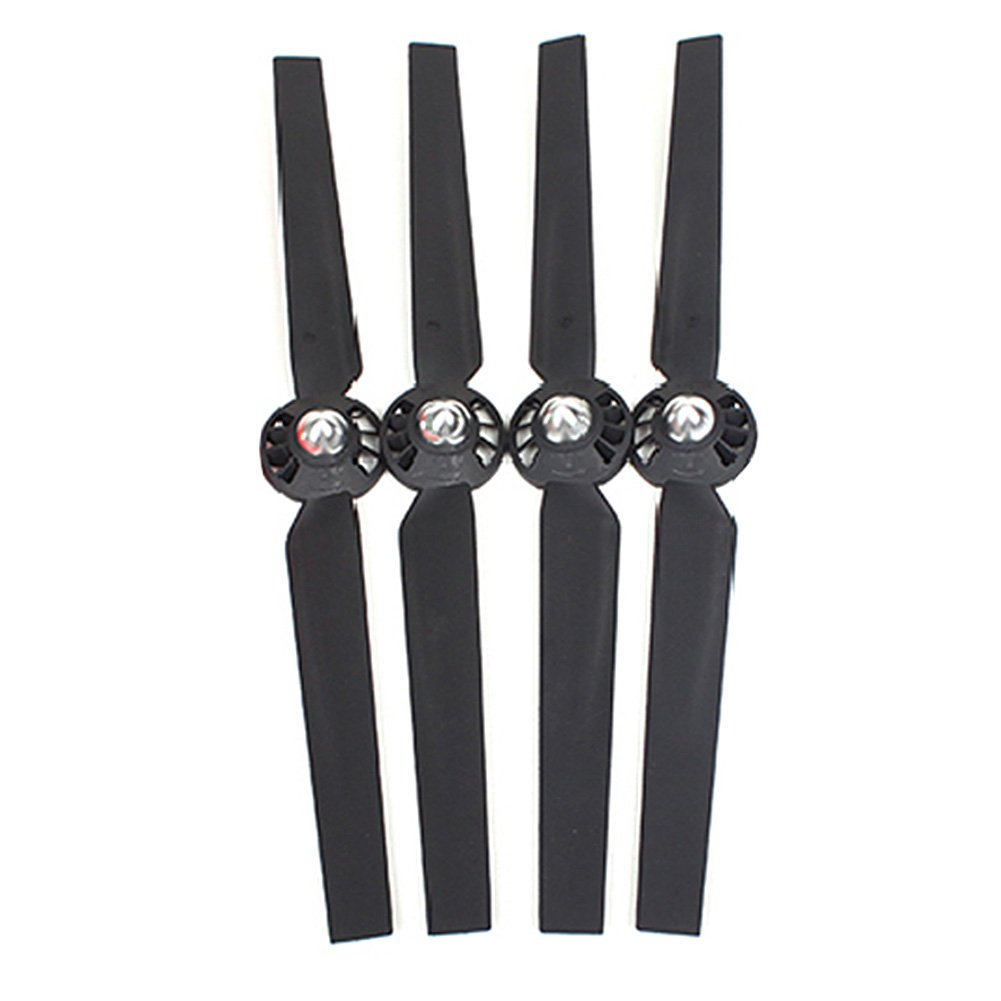 Ocamo 2 Pairs Propellers Rotor Blade Sets A and B Black for YUNEEC Typhoon G Q500 Q500+ Q500 4K RC Quadcopter Drone