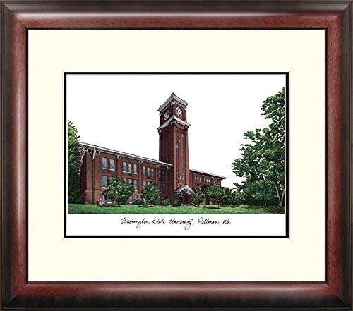 NCAA Washington State Cougars Alumnus Framed Lithograph