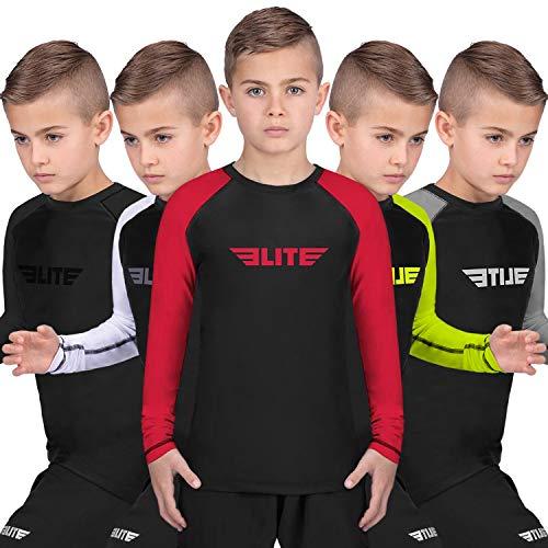 Elite Sports Rash Guards for Boys and Girls, Full