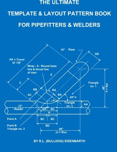 Download The Ultimate Template and Layout Pattern Book for Pipefitters and Welders ebook