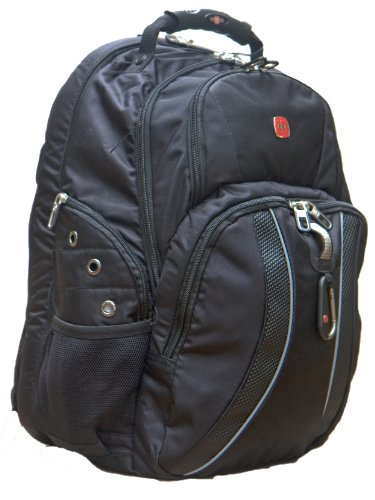 SwissGear ScanSmart Laptop Backpack - Black