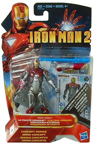 Hasbro Iron Man 2 Concept 3.75 Inch Figure Iron Man Mark Ultimate Armor