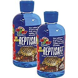 Zoo Med ReptiSafe Instant Terrarium Water Conditioner 8.75 FL. OZ. (Pack of 2)