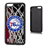 Philadelphia 76ers iPhone 6 Plus & iPhone 6s Bumper Case officially licensed by the NBA for the Apple iPhone 6 Plus by keyscaper® Flexible Full Coverage Low Profile