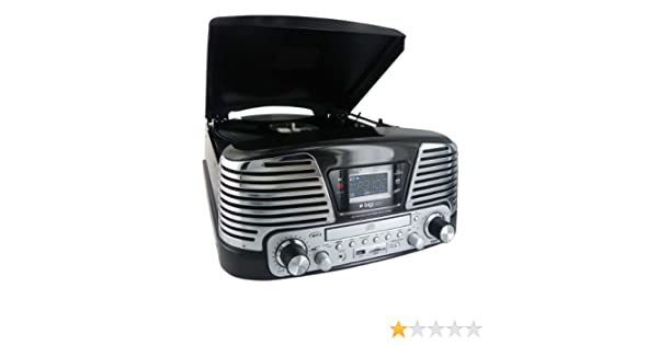Bigben Interactive TD79NM tocadisco: Amazon.es: Electrónica