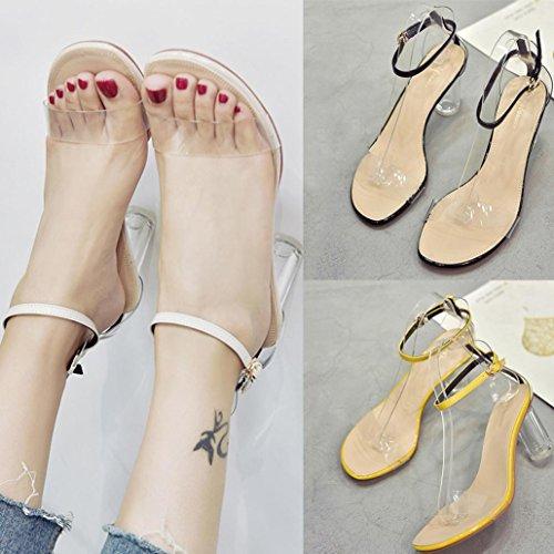 Wedges S Böhmen Schuhe Sandalen NEEDRA Weave Heel Sandalen Mode Bg amp;H Middle Sommer Frauen xAprxFWf