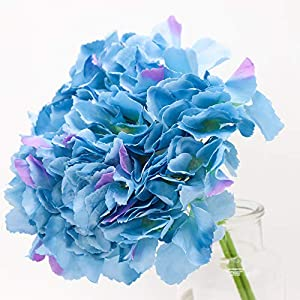 Yunuo Artificial Hydrangea Flower 3pcs/Bundle Decorative for Wedding Party Home 63