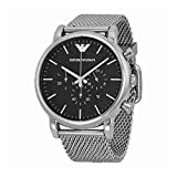 Emporio Armani Men's AR1808 Dress Silver...