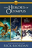 download ebook heroes of olympus: books i-iii: collecting, the lost hero, the son of neptune, and the mark of athena (heroes of olympus, the) pdf epub