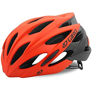 Giro Savant MIPS Road Cycling Helmet Matte Vermillion/Flame Fade Medium (55 59 cm)